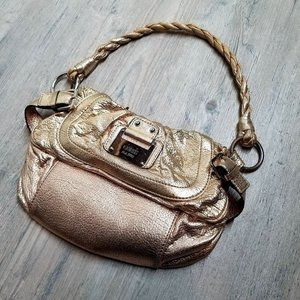 Guess Gold Foil Leather Purse. Perfect Condition!